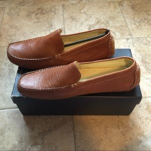 Bacco Bucci Men's Tan Devers Loafer- Size 14
